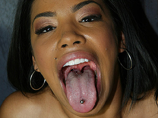 Havanna Ginger Black Dick Deep Throat