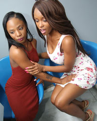 Monster Black Cock Jezabel Vessir & Sarah Banks