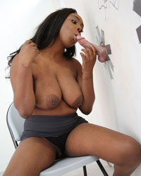 Lisa Tiffian Deep Throat Black Cock